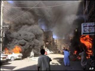Explosiones en Pakistán