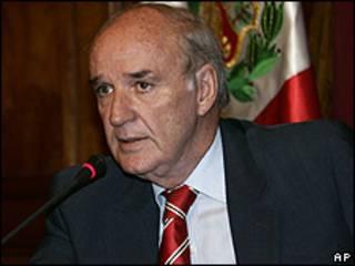 José Antonio García Belaunde, canciller peruano