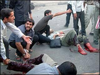 محل انفجار - عکس از خبرگزاری فارس