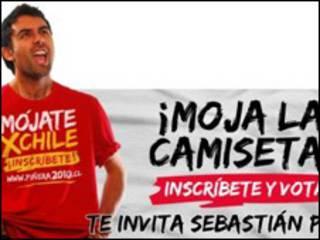 Campaña electoral (foto cortesía de la web del candidato Sebastián Piñera)