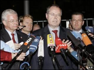 Ministro de finanzas alemán, Peer Steinbrueck