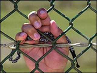 زندانی مسلمان در گوانتانامو
