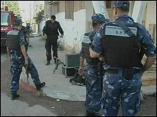 پلیس فتح در کرانه باختری