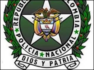 Escudo de la Policía Nacional de Colombia.