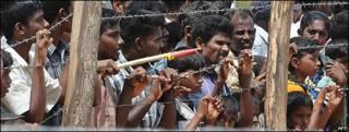 Campo de refugiados tamiles