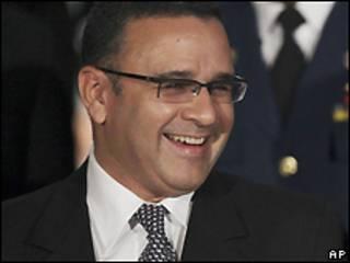 Mauricio Funes, presidente electo de El salvador