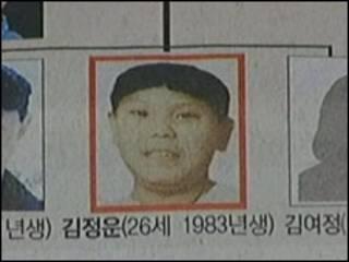Портрет младшего сына Ким Чен Ира