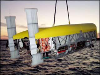 Submarino-robô Nereus (Foto: Christopher Griner/WHOI)