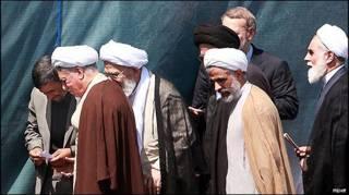 هاشمی رفسنجانی و احمدی نژاد