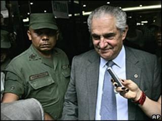 Guillermo Zuloaga, presidente de Globovisión, el 4 junio 2009.