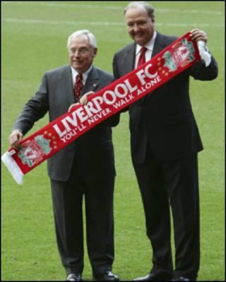 Hai ông chủ đội Liverpool, George Gillet và Tom Hicks