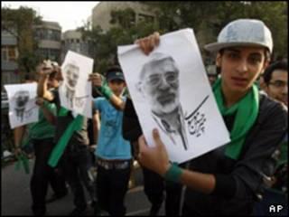طرفداران موسوی - عکس آرشیوی