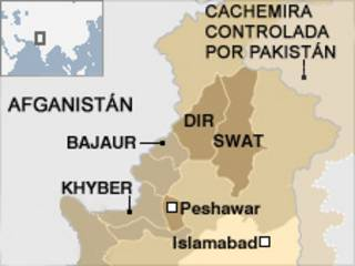 Mapa Pakistán