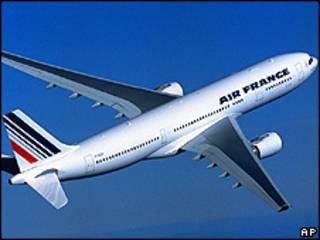 Aibus da Air France (arquivo)