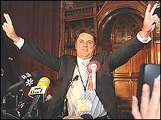 Nick Griffin, líder do BNP