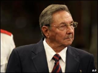 O presidente de Cuba, Raúl Castro (foto de arquivo)