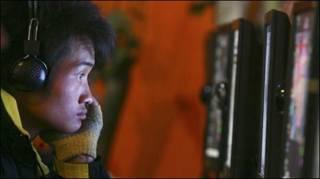 Người dùng mạng ở cafe internet TQ