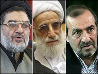 علی اکبر محتشمی پور، احمد جنتی، مرتضی الویری
