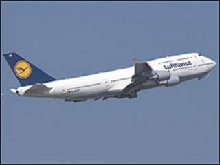 Avião da Lufthansa (divulgação)