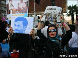 Campaña electoral en Irán.