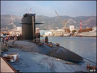 Submarino Émeraude (arquivo)