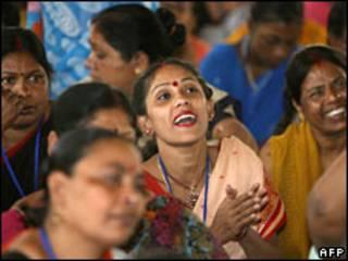 Prostituta en India