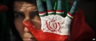 Người ủng hộ ông Ahmadinejad
