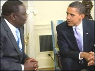 اوباما و چانگرای در کاخ سفید دیدار کردند