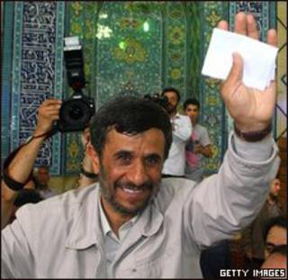Ông Mahmoud Ahmadinejad