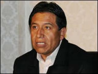 David Choquehuanca, canciller de Bolivia (foto cortesía Agencia Boliviana de Informaciones).