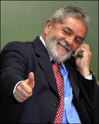 o presidente Luis Inácio Lula da Silva
