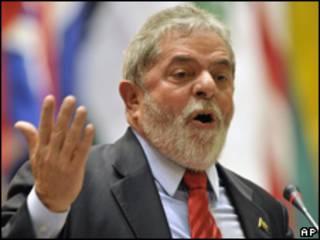 O presidente Luiz Inácio Lula da Silva (arquivo)