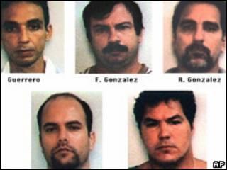 Los cinco de Cuba