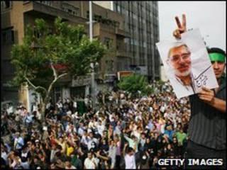 Biểu tình sau bầu cử tại Tehran