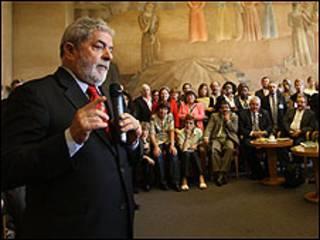 OO presidente Luiz Inácio Lula da Silva (Foto: Ricardo Stuckert-PR)