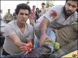 زخمی حمله روز دوشنبه