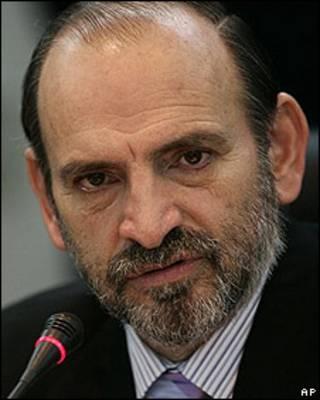 Yehude Simon, primer ministro de Perú.
