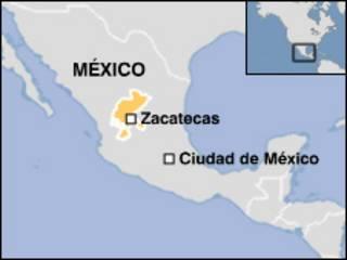Mapa de México. Sacado de la Página en internet de la Secretaría de Turismo de México