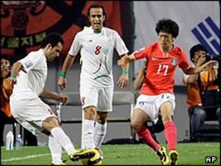 بازی ایران کره
