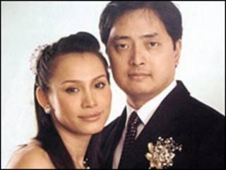 Vợ chồng LS Lê Công Định