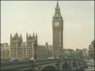 O parlamento britânico (arquivo)