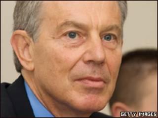 Primer ministro británico Tony Blair