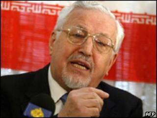 Ebrahim Yazdi, ex ministro de Relaciones Exteriores