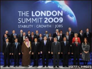 Cumbre del G20 en Londres