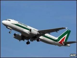 Avião da Alitalia (arquivo)