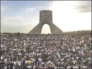 Protesto da oposição em Teerã (15.Junho)