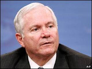Secretario de Defensa de EE.UU., Robert Gates