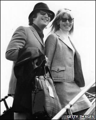 John và Cynthia Lennon năm 1965