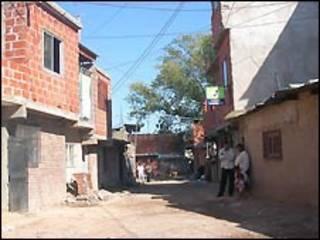 Vila de emergência em Buenos Aires