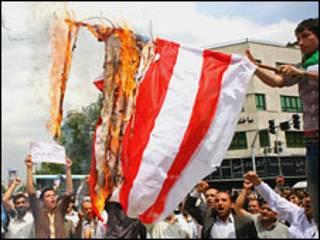 راهپیمایی روز 13 آبان در تهران